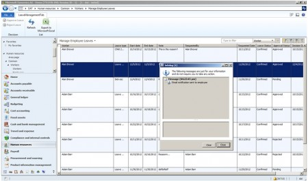 Coded Events in action - Microsoft Dynamics AX