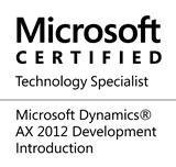 Microsoft Dynamics AX specialist
