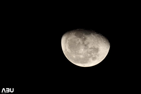 Moon captured using 100ED SkyWatcher