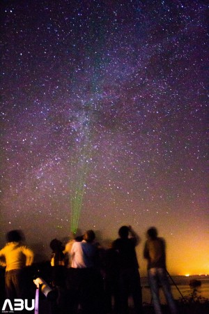 Pakistani Astronomers under dark sky