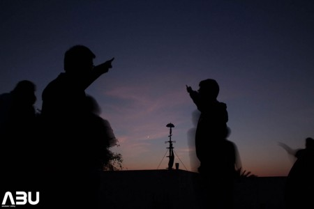 Pointing to our neighboring world The Venus
