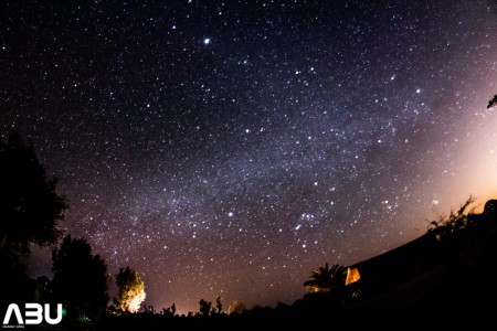 Milky Way galaxy winters from Pakistan