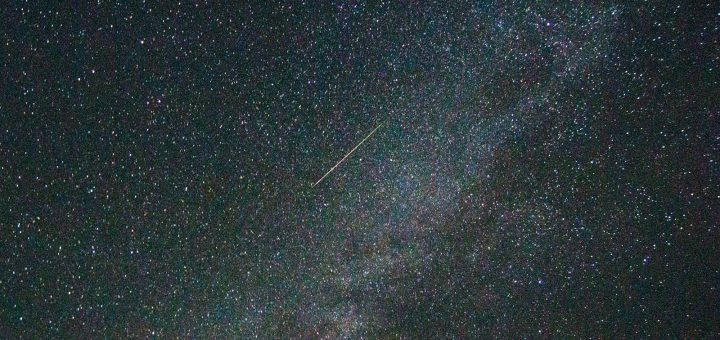 Perseid Meteor from Pakistan