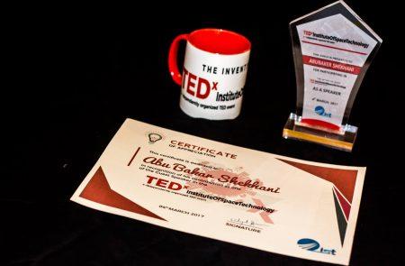 Abubaker Shekhani at TEDx IST Pakistan
